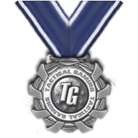 Tactical Gaming Sponsor Award Medal