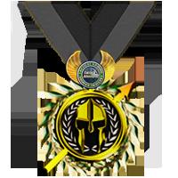 Tactical Gaming Presidential Medal